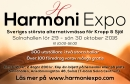 Harmoni-Expo - Sveriges största alternativmässa för Kropp & Själ 1 av 3