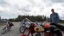 Raketrally träffen för moped och MC 1 av 9